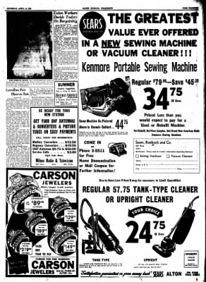 Alton Evening Telegraph from Alton, Illinois on April 16, 1953 · Page 12