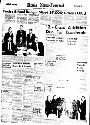 Clovis News-Journal from Clovis, New Mexico on May 5, 1965 · Page 6