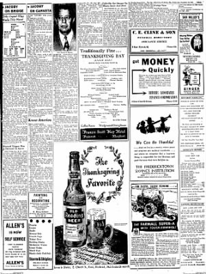 The News from Frederick, Maryland on November 21, 1951 · Page 8