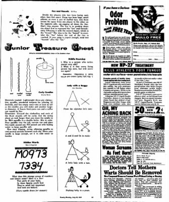 The Racine Journal-Times Sunday Bulletin from Racine, Wisconsin on July 19, 1959 · Page 60