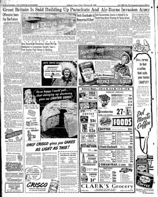 Lubbock Morning Avalanche from Lubbock, Texas on February 20, 1942 · Page 9