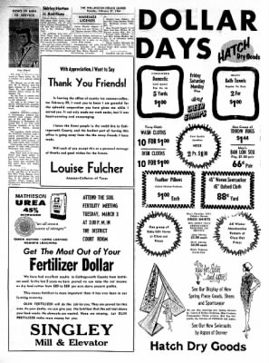 The Wellington Leader from Wellington, Texas on February 27, 1964 · Page 10