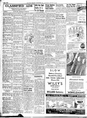 The Daily Register from Harrisburg, Illinois on January 14, 1948 · Page 4