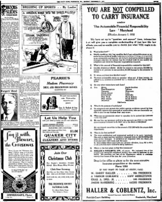 The News from Frederick, Maryland on December 21, 1931 · Page 7