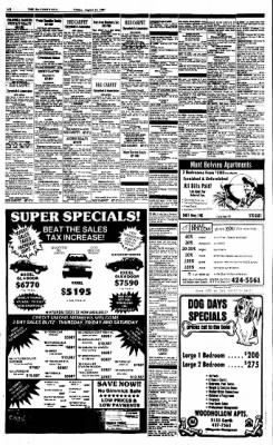 The Baytown Sun from Baytown, Texas on August 21, 1987 · Page 16