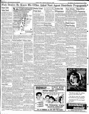 Lubbock Morning Avalanche from Lubbock, Texas on February 21, 1942 · Page 2