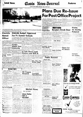 Clovis News-Journal from Clovis, New Mexico on May 6, 1965 · Page 6