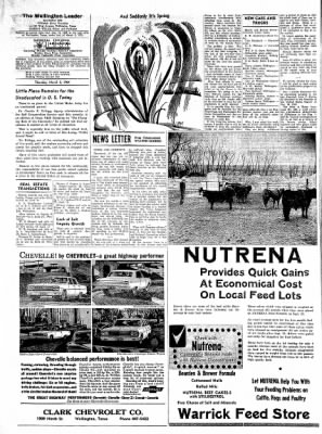 The Wellington Leader from Wellington, Texas on March 5, 1964 · Page 6