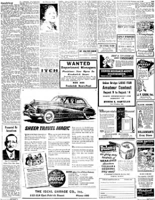 The News from Frederick, Maryland on July 7, 1948 · Page 9