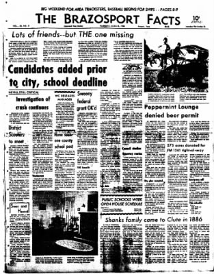 The Brazosport Facts from Freeport, Texas on March 5, 1964 · Page 1