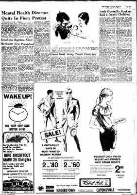 The News from Frederick, Maryland on June 3, 1970 · Page 3