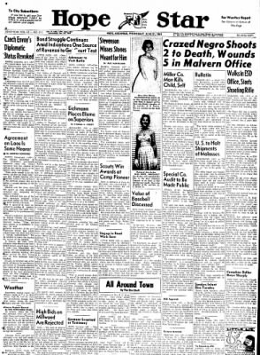 Hope Star from Hope, Arkansas on June 21, 1961 · Page 1