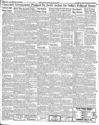 Lubbock Morning Avalanche from Lubbock, Texas on February 26, 1942 · Page 4