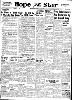Hope Star from Hope, Arkansas on June 22, 1961 · Page 1