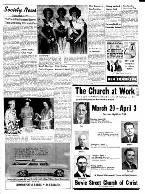 The Wellington Leader from Wellington, Texas on March 26, 1964 · Page 3
