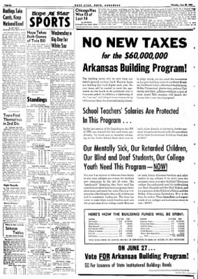 Hope Star from Hope, Arkansas on June 22, 1961 · Page 6
