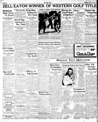 The Paris News from Paris, Texas on July 16, 1934 · Page 6