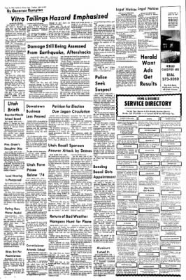 The Daily Herald from Provo, Utah on April 8, 1975 · Page 14