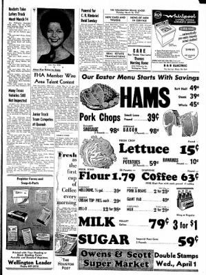 The Wellington Leader from Wellington, Texas on March 26, 1964 · Page 7