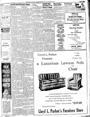 The Daily Register from Harrisburg, Illinois on January 19, 1948 · Page 5