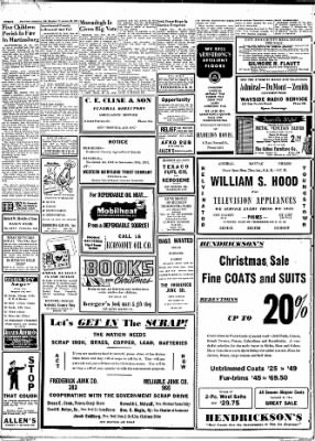 The News from Frederick, Maryland on November 26, 1951 · Page 4