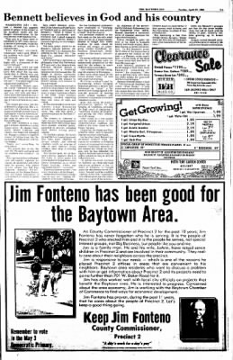 The Baytown Sun from Baytown, Texas on April 27, 1986 · Page 7