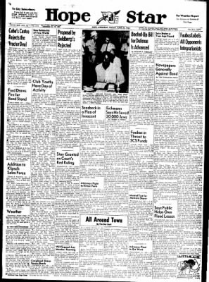 Hope Star from Hope, Arkansas on June 23, 1961 · Page 1