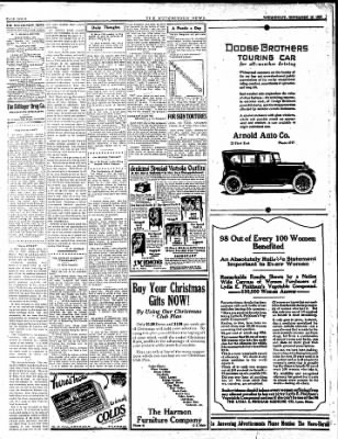 The Hutchinson News from Hutchinson, Kansas on November 19, 1924 · Page 4