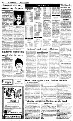 The Baytown Sun from Baytown, Texas on August 24, 1987 · Page 10