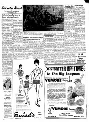 The Wellington Leader from Wellington, Texas on April 9, 1964 · Page 3
