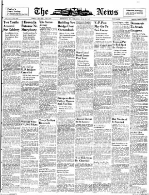 The News from Frederick, Maryland on July 10, 1948 · Page 1