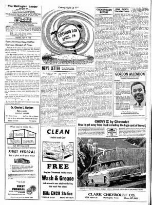 The Wellington Leader from Wellington, Texas on April 9, 1964 · Page 6