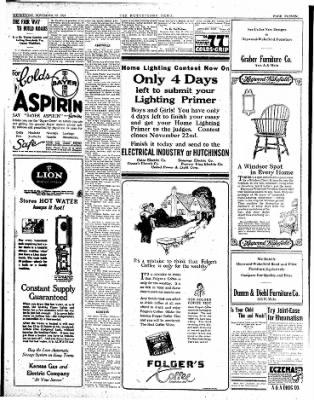 The Hutchinson News from Hutchinson, Kansas on November 19, 1924 · Page 11