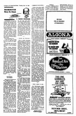 The Algona Upper Des Moines from Algona, Iowa on February 14, 1967 · Page 11