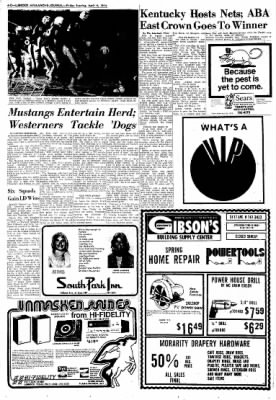 Lubbock Avalanche-Journal from Lubbock, Texas on April 4, 1975 · Page 42