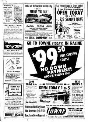 The Racine Journal-Times Sunday Bulletin from Racine, Wisconsin on July 26, 1959 · Page 40