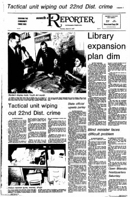Southend Reporter from Chicago, Illinois on March 17, 1977 · Page 1