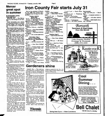 Ironwood Daily Globe from Ironwood, Michigan on June 30, 1998 · Page 7