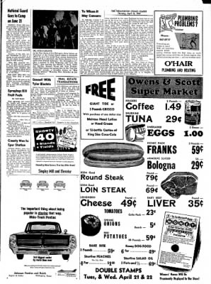 The Wellington Leader from Wellington, Texas on April 16, 1964 · Page 9
