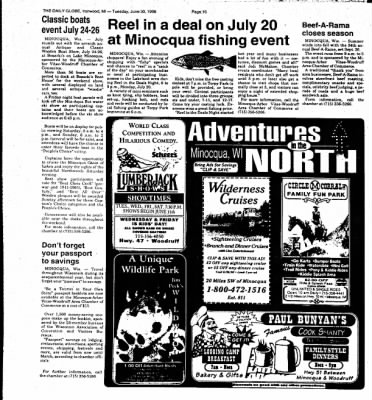 Ironwood Daily Globe from Ironwood, Michigan on June 30, 1998 · Page 14