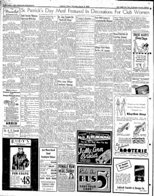 Lubbock Morning Avalanche from Lubbock, Texas on March 5, 1942 · Page 2