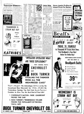 The Baytown Sun from Baytown, Texas on March 27, 1956 · Page 10