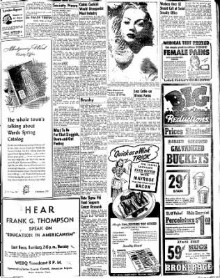 The Daily Register from Harrisburg, Illinois on January 22, 1948 · Page 9