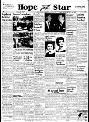Hope Star from Hope, Arkansas on June 29, 1961 · Page 1
