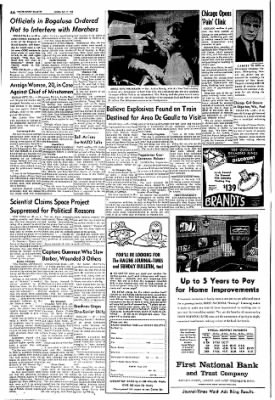 The Racine Journal-Times Sunday Bulletin from Racine, Wisconsin on July 11, 1965 · Page 4