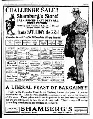 The Hutchinson News from Hutchinson, Kansas on November 21, 1924 · Page 5