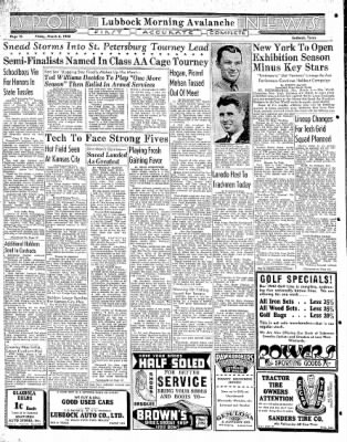 Lubbock Morning Avalanche from Lubbock, Texas on March 6, 1942 · Page 5