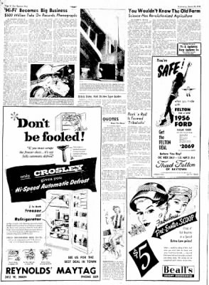 The Baytown Sun from Baytown, Texas on March 28, 1956 · Page 14