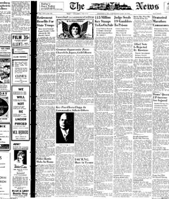 The News from Frederick, Maryland on July 14, 1948 · Page 1