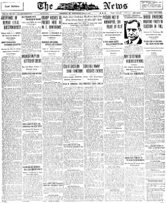 The News from Frederick, Maryland on May 25, 1932 · Page 1